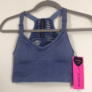 NWT Betsy Johnson Performance XS Sports Bra